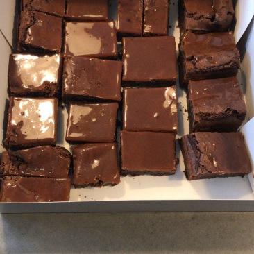 brownies karamel